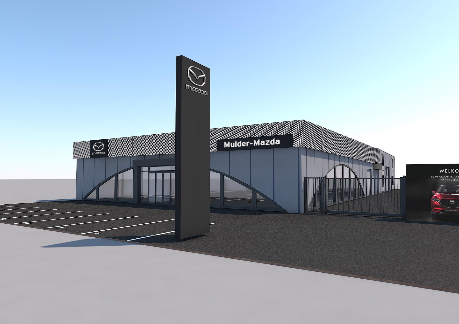 Mulder-Mazda opent nieuwe vestiging in Rotterdam-Zuid!